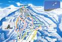ハンターマウンテン塩原スキー場のイメージマップ