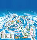 ホワイトワールド尾瀬岩鞍スキー場のイメージマップ