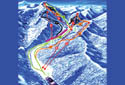 川場スキー場のイメージマップ