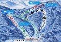 ノルン水上スキー場のイメージマップ