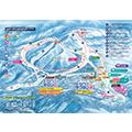 水上高原スキーリゾートのイメージマップ