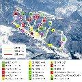 宝台樹スキー場のイメージマップ
