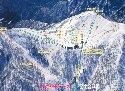 谷川岳天神平スキー場のイメージマップ