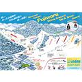 水上高原藤原スキー場のイメージマップ