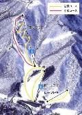 みなかみ町営赤沢スキー場のイメージマップ