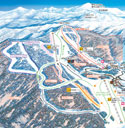万座温泉スキー場のイメージマップ
