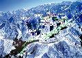神立高原スキー場のイメージマップ