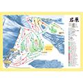 岩原スキー場のイメージマップ