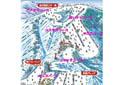 湯沢高原スキー場のイメージマップ