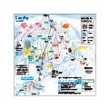 GALA湯沢スキー場のイメージマップ