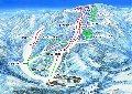 六日町八海山スキー場のイメージマップ