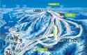 奥只見丸山スキー場のイメージマップ