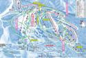 赤倉温泉スキー場のイメージマップ