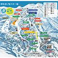 妙高 杉ノ原スキー場のイメージマップ