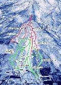 妙高池の平温泉スキー場のイメージマップ