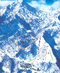妙高高原関温泉スキー場のイメージマップ
