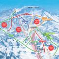 キューピットバレイスキー場のイメージマップ