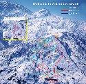 シャルマン火打スキー場のイメージマップ