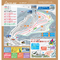 札幌国際スキー場のイメージマップ