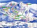 三川温泉スキー場のイメージマップ