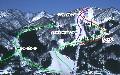 村上市ぶどうスキー場のイメージマップ