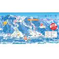 立山山麓(極楽坂・らいちょうバレー)スキー場のイメージマップ