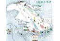 牛岳温泉スキー場のイメージマップ