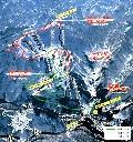 白山千丈温泉セイモアスキー場のイメージマップ