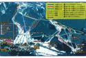 白山一里野温泉スキー場のイメージマップ