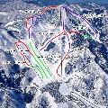 今庄365スキー場のイメージマップ
