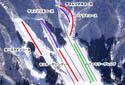 九頭竜スキー場のイメージマップ