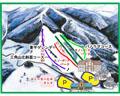 六呂師高原スキー場のイメージマップ