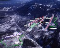 湯の丸スキー場のイメージマップ