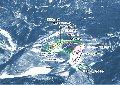 志賀高原中央エリア「 サンバレー・丸池・蓮池」スキー場のイメージマップ