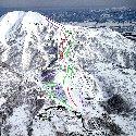ニセコアンヌプリ国際スキー場のイメージマップ