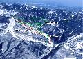 志賀高原ト中央エリア「発哺ブナ平・東館山」スキー場のイメージマップ