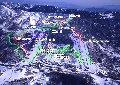 志賀高原中央エリア「寺小屋・高天ヶ原・一の瀬」スキー場のイメージマップ