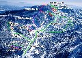 志賀高原 横手山・渋峠スキー場のイメージマップ