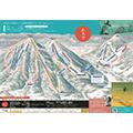 ルスツリゾートスキー場のイメージマップ