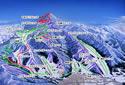 野沢温泉スキー場のイメージマップ