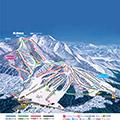 戸隠スキー場のイメージマップ