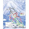 いいづなリゾートスキー場のイメージマップ