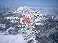 北志賀よませ温泉スキー場のイメージマップ