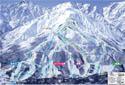 白馬八方尾根スキー場のイメージマップ