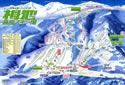 栂池高原スキー場のイメージマップ