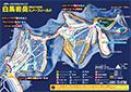 白馬岩岳スノーフィールドのイメージマップ