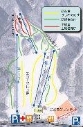 爺ガ岳スキー場のイメージマップ