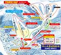 エコーバレースキー場のイメージマップ