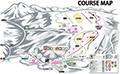 白樺湖 ロイヤルヒルスキー場のイメージマップ