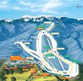 小海リエックス・スキーバレーのイメージマップ